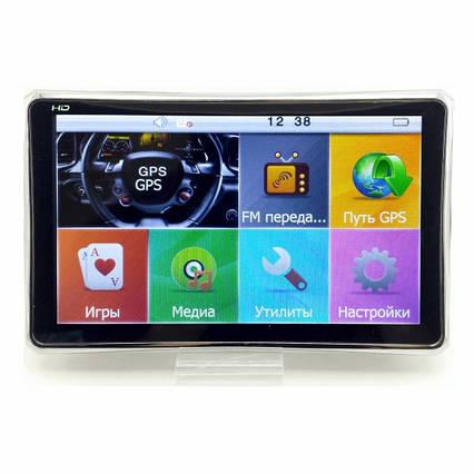 Автонавігатор GPS 8004 ddr2-128mb, 8gb HD з ємнісним екраном, GPS-навігатор, Навігаційна система для машини