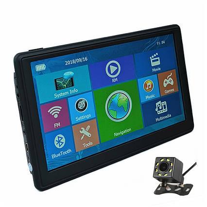"""Автонавігатор 8001 7.0"""" ddr2-128mb, 8gb HD з ємнісним екраном, GPS-навігатор, Навігаційна система для машин"""