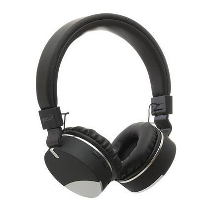 Навушники безпровідні \ Bluetooth навушники Gorsun GS-E86 з вбудованим плеєром Black