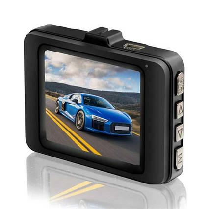 Відеореєстратор автомобільний car dvr full hd 1080p 626-2 метал, реєстратор камера відеоспостереження Full HD