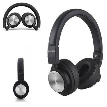 Бюджетні бездротові Bluetooth-навушники гарнітура Gorsun GS-E2 для мобільних телефонів з кейсом