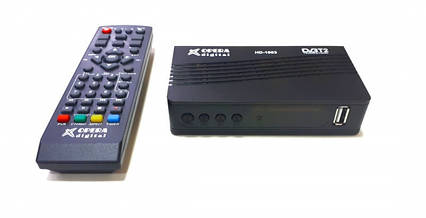 Ресивер цифрового телебачення Т2 OPERA DIGITAL HD-1003 приймач тюнер-приставка з підтримкою wi-fi адаптера