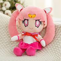 Сейлор Мун детская мягкая игрушка Sailor Moon pink