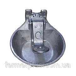 Поїлка чашкова для ВРХ і коней (алюміній)