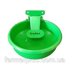 Поїлка чашкова для ВРХ і коней (сталева)