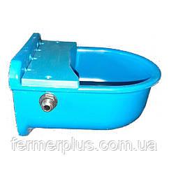 Поїлка чашкова попалвковая для ВРХ, МРС і коней (пластикова)