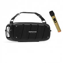 Портативная bluetooth колонка Hopestar A20 Pro, 55W, черная с микрофоном
