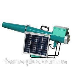 Пропановий гармата з електронним управлінням і сонячною батареєю для відлякування диких тварин і птахів