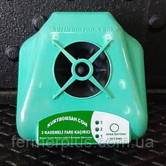 Відлякувач гризунів електронний триступеневий ультразвукової (до 4500 м. кв)