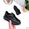 Кросівки жіночі Nevin чорні 3575, фото 2