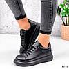 Кросівки жіночі Nevin чорні 3575, фото 3