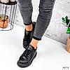 Кросівки жіночі Nevin чорні 3575, фото 5