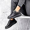 Кросівки жіночі Nevin чорні 3575, фото 6