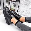 Кросівки жіночі Nevin чорні 3575, фото 7