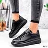 Кросівки жіночі Nevin чорні 3575, фото 9