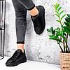 Кросівки жіночі Nevin чорні 3575, фото 10