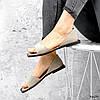 Босоніжки жіночі Carla беж 3609 замша, фото 7