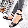 Босоножки женские Bielet черные 3626 кожа, фото 7
