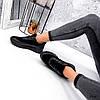 Кроссовки женские Lilia черные 3547, фото 4