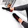 Кросівки жіночі Ayder чорні + червоні 3549, фото 9
