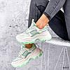 Кросівки жіночі Simar беж + світло м'ятний 3561, фото 5