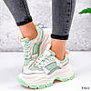 Кросівки жіночі Simar беж + світло м'ятний 3561, фото 6