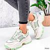 Кросівки жіночі Simar беж + світло м'ятний 3561, фото 7