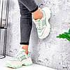 Кросівки жіночі Simar беж + світло м'ятний 3561, фото 9