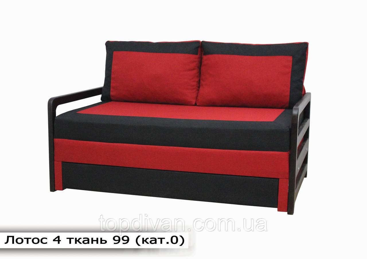 """Диван """"Лотос 4"""". 160 см подвійний пружинний блок (тканина 99)"""