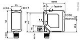 FT 55-RLAP-5-PNSIL-L5 Датчик відстані Time of flight, фото 2