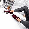 Кросівки жіночі Toia бордо 3641, фото 9