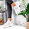 Кроссовки женские Mavis белые + беж 3660, фото 8