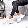 Кроссовки женские Mavis белые + беж 3660, фото 10