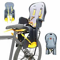 Детское велокресло TILLY Easy Fit T-841 светло-серое