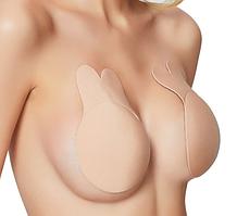 Женский многоразовый бюстгальтер без бретелек, создающий очаровательную грудь с глубоким v-образным вырезом