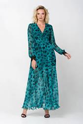 Сукня Evdress XL смарагдовий