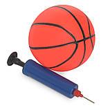 Детская пластиковая горка с кольцом и мячиком Bambi YG2020 мятная для дома, фото 3