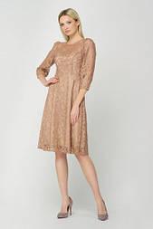 Сукня Evdress 2XL пудровий