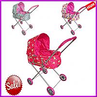 Коляска для куклы MELOBO 9308 (HT) 63,5*36*73, игрушечная коляска для кукол, детская коляска для куклы