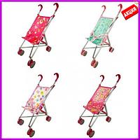 Коляска для куклы MELOBO 9302W(HT) .55,5*26*45,5, игрушечная коляска для кукол, детская коляска для куклы