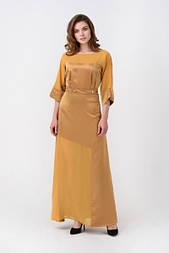 Сукня Evdress XL гірчиця