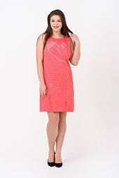 Сукня Evdress XL кораловий