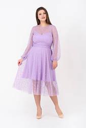 Сукня Evdress XL бузковий