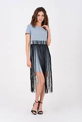 Сукня Evdress M блакитний