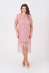 Сукня Evdress XL рожевий