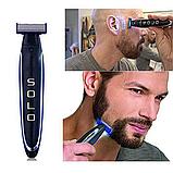 Многофункциональный аккумуляторный триммер для бороды и усов   Электробритва мужская MicroTouch SOLO, фото 5