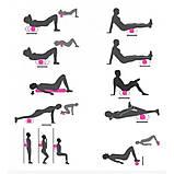 Ролик масажний для йоги Massage stick | Масажер для спини | Валик для фітнесу масажний, фото 4