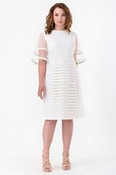 Сукня Evdress XL молочний