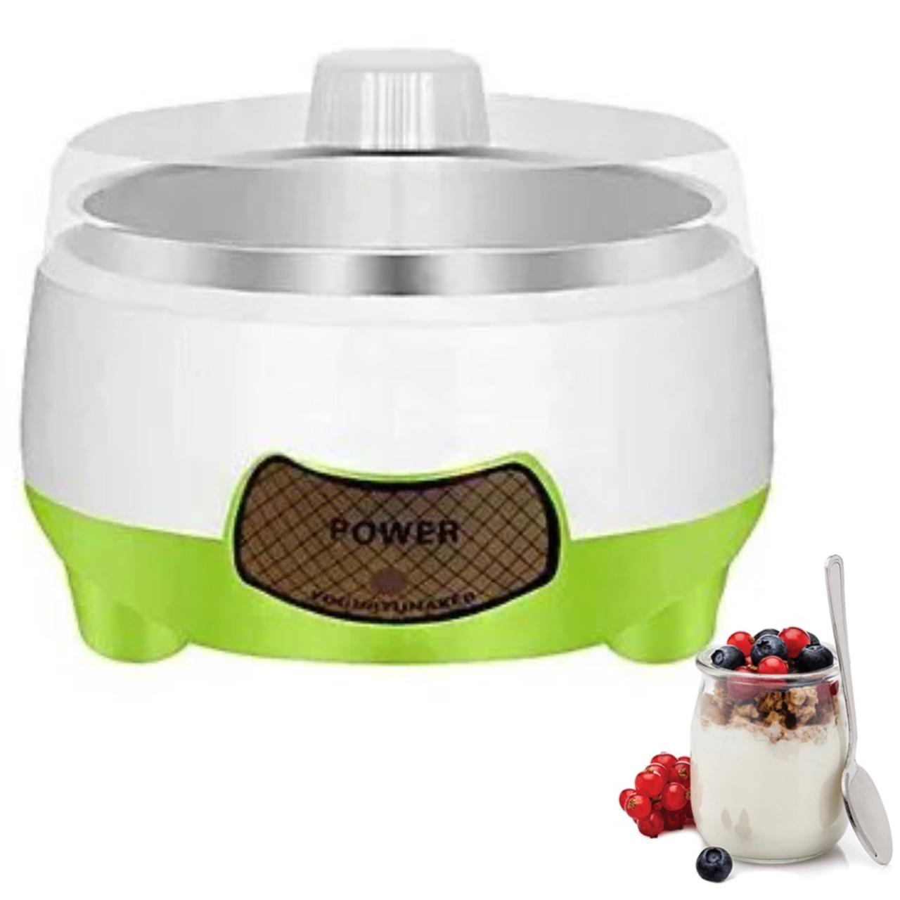 Йогуртниця Yogurt Machine | Апарат для приготування йогурту для 7 різних видів кисломолочних продуктів