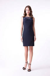 Сукня Evdress L темно-синій